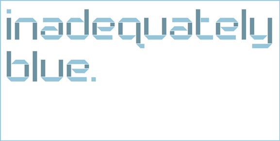 inadequately blue – Emma Shi