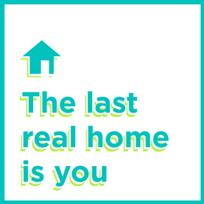 The last real home is you – Lily Van Buskirk